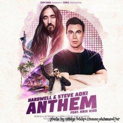 Hardwell & Steve Aoki feat. Kris Kiss - Anthem (Extended Mix)